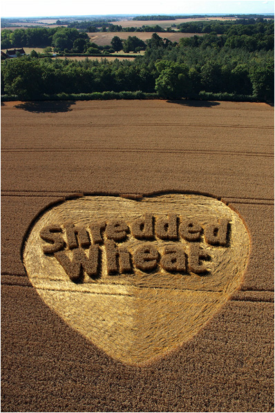 Shredded Wheat crop circle