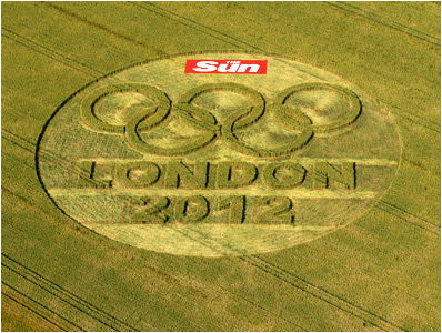 French Olympic Crop Circle